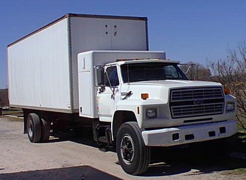 Straight Trucks Ford