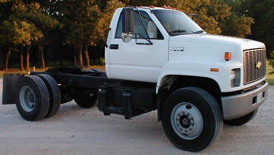 1995 Chevrolet C7000 Single Axle Diesel Tractor P2068