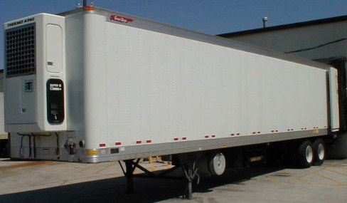 2000 Great Dane 45 Refrigerated Trailer P2084